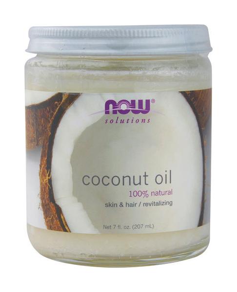 Масло для тела Now Coconut Oil Natural