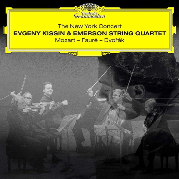 Evgeny Kissin & Emerson String Quartet / The New York Concert: Mozart - Faure - Dvorak 2CD Медиа
