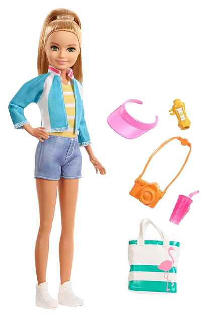 Купить Кукла Mattel Barbie FWV16 Стейси из серии Путешествия, Куклы Barbie