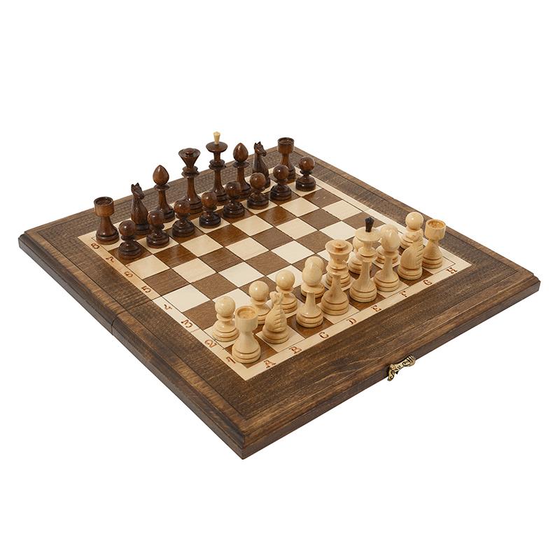 Купить Шахматы и Нарды резные Haleyan 40,