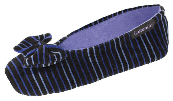 Тапочки детские Isotoner, цв. синий р.27 фото