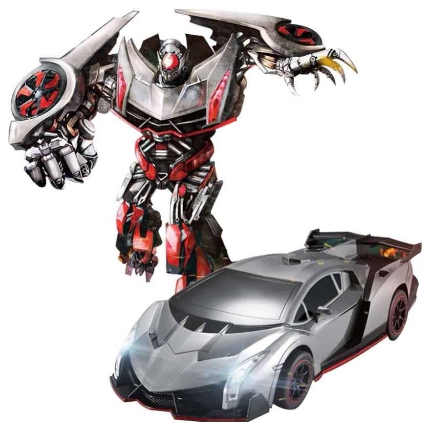 Купить Радиоуправляемая машинка-трансформер Jia Qi Lamborghini Черный, Радиоуправляемые машинки