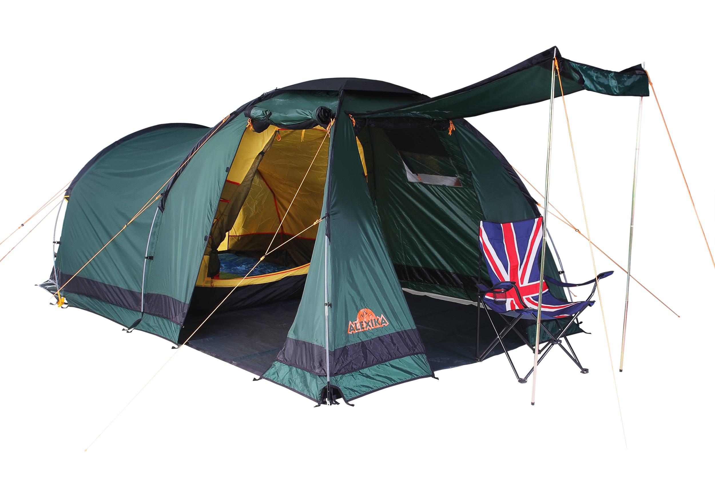 Палатка ALEXIKA NEVADA 4 Цвет зеленый