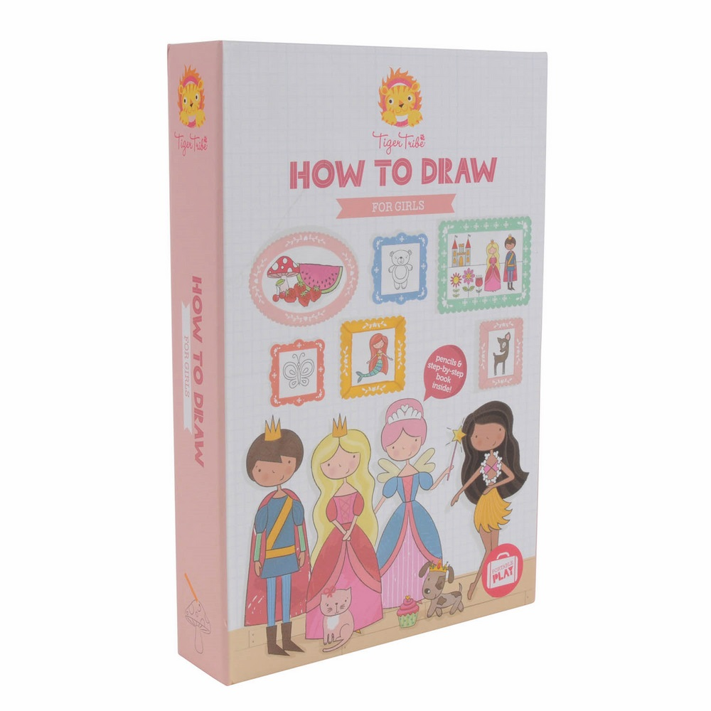 Набор для рисования Tiger tribe для девочек