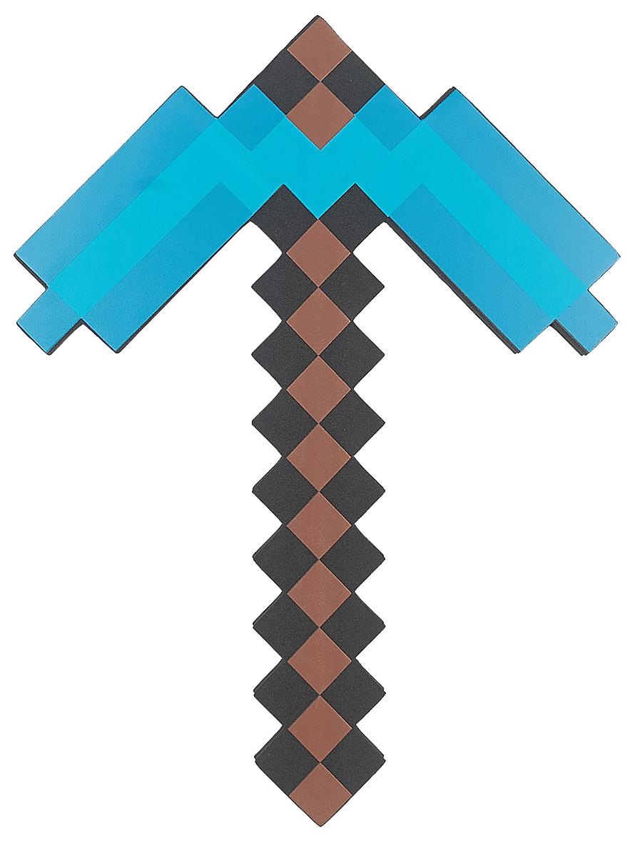 Купить Игровой набор Кирка Алмазная Пиксельная 45См, Minecraft,