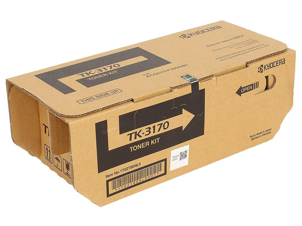 Тонер Kyocera TK-3170 для P3050dn, P3055dn, P3060dn Black  - купить со скидкой