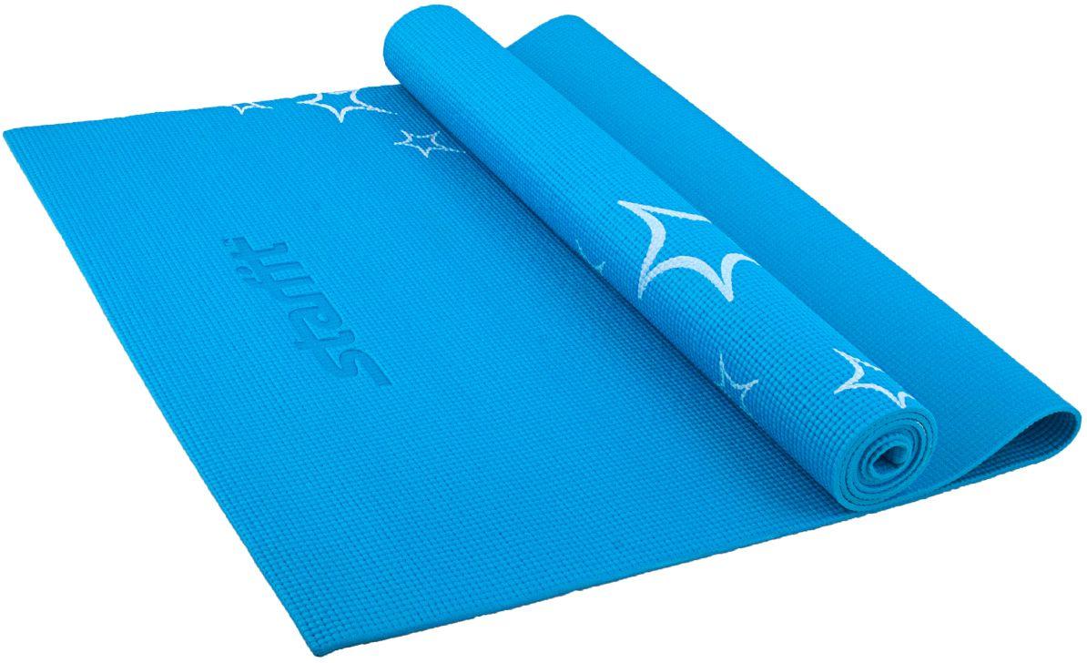Коврик для йоги FM 102, PVC, 173x61x0,5