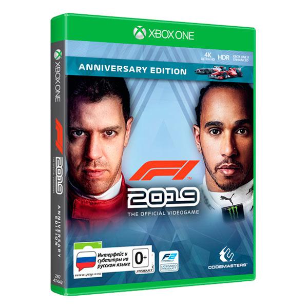 Игра F1 2019 Юбилейное Издание для Xbox One 505 Games