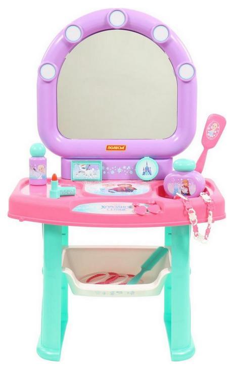 Купить Туалетные столики, Туалетный столик игрушечный Полесье Холодное сердце, Игрушечные туалетные столики