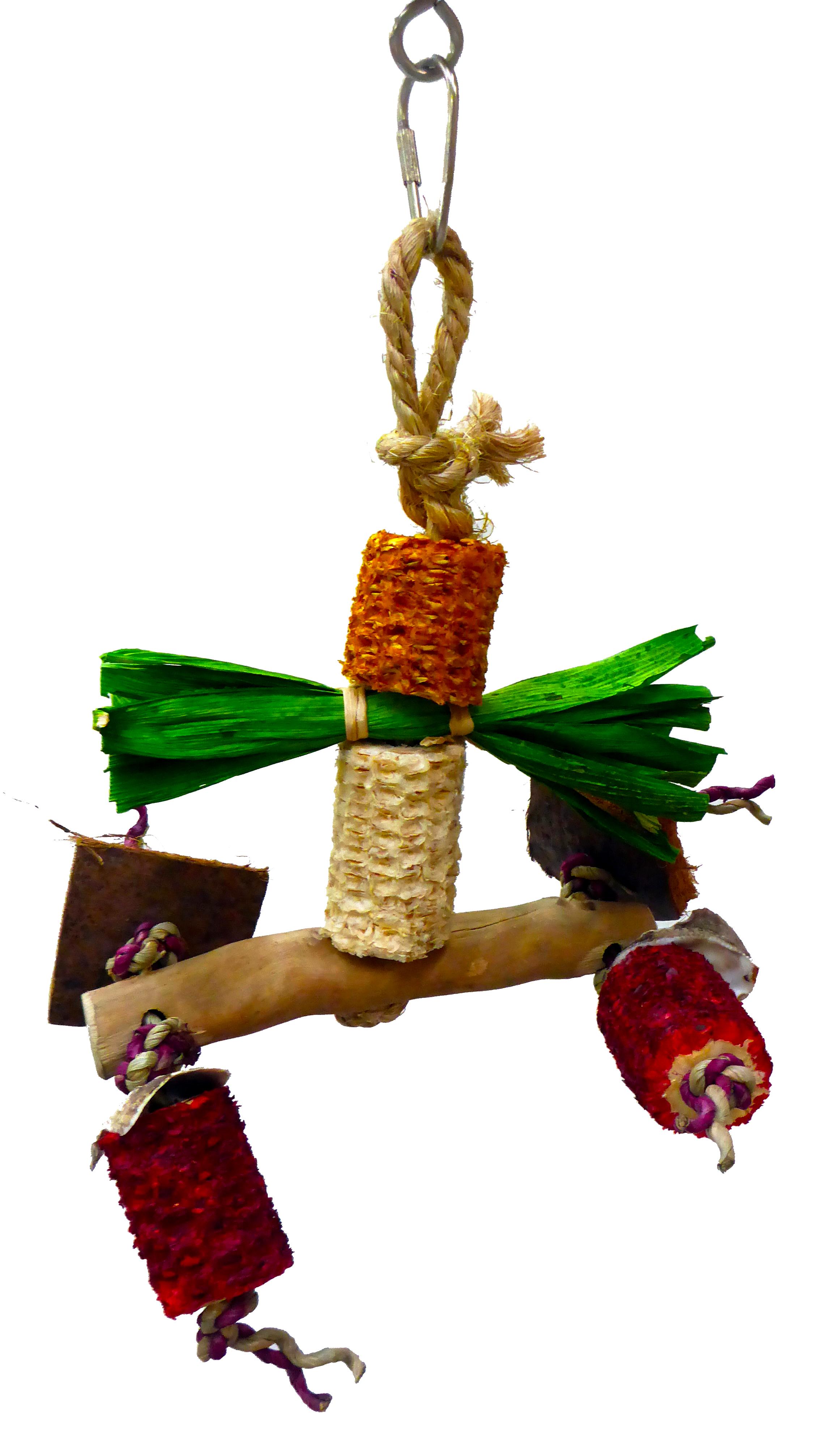 Игрушка для птиц SKY Adventure Bound Corn Dongle, 25 х 12 см