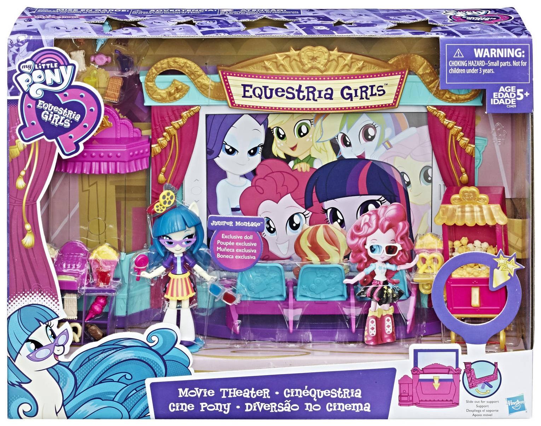 Игровой набор My little Pony Equestria Girls Кинотеатр C0409