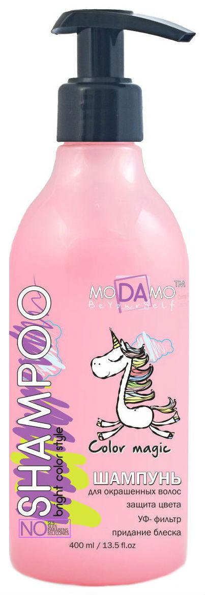 Купить Шампунь moDAmo Для окрашенных волос 400 мл
