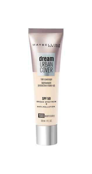 Тональный крем Maybelline Dream Urban Cover SPF 50 100 Warm Ivory 30 мл