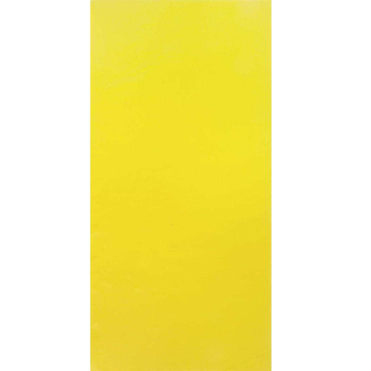 Бумага пластиковая для папильоток для собак Lainee, желтая,