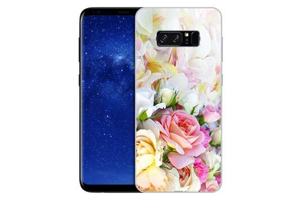 Чехол Gosso Cases для Samsung Galaxy Note 8 «Нежные розы»