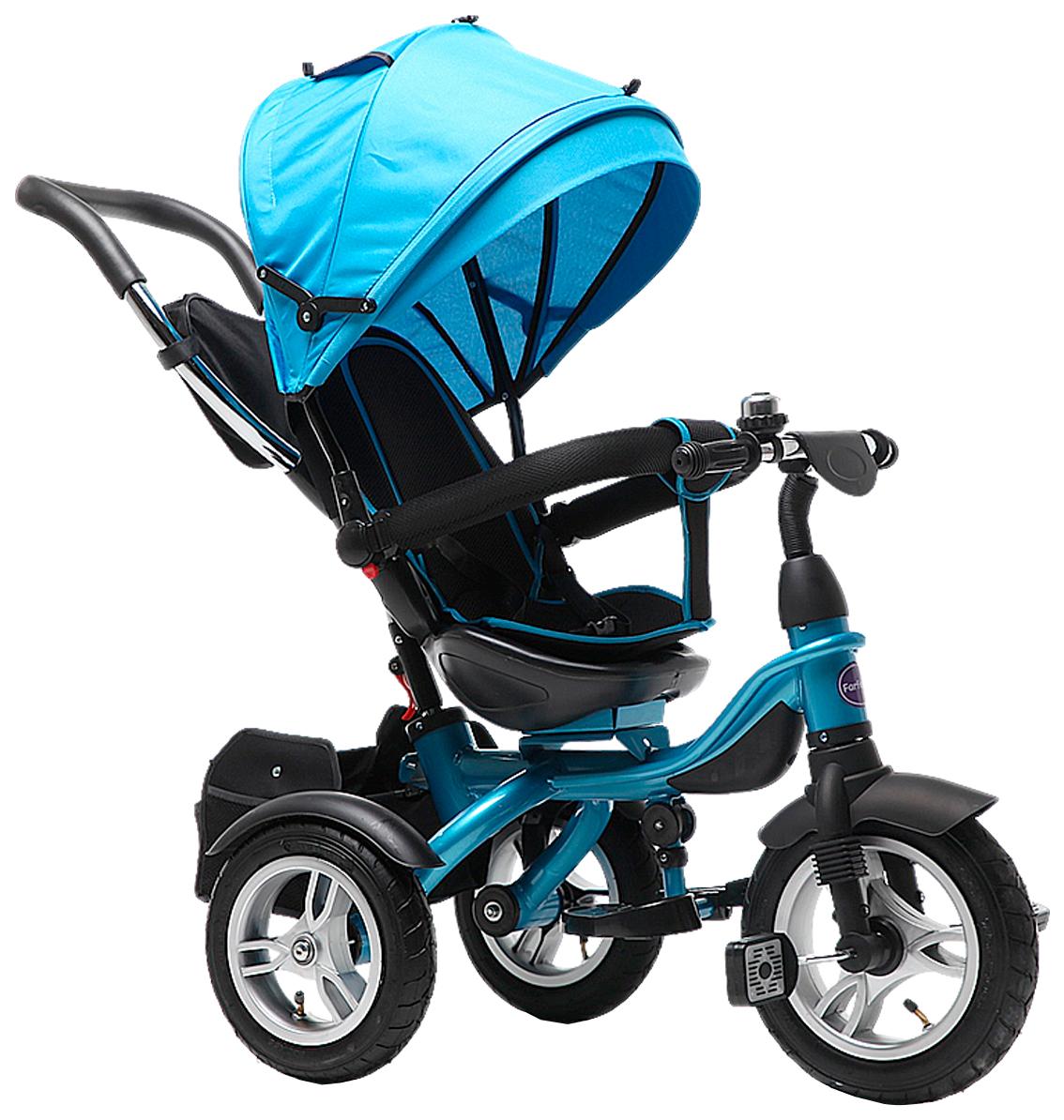 Купить Велосипед трехколесный Farfello TSTX6688-4 небесно-голубой, Детские велосипеды-коляски