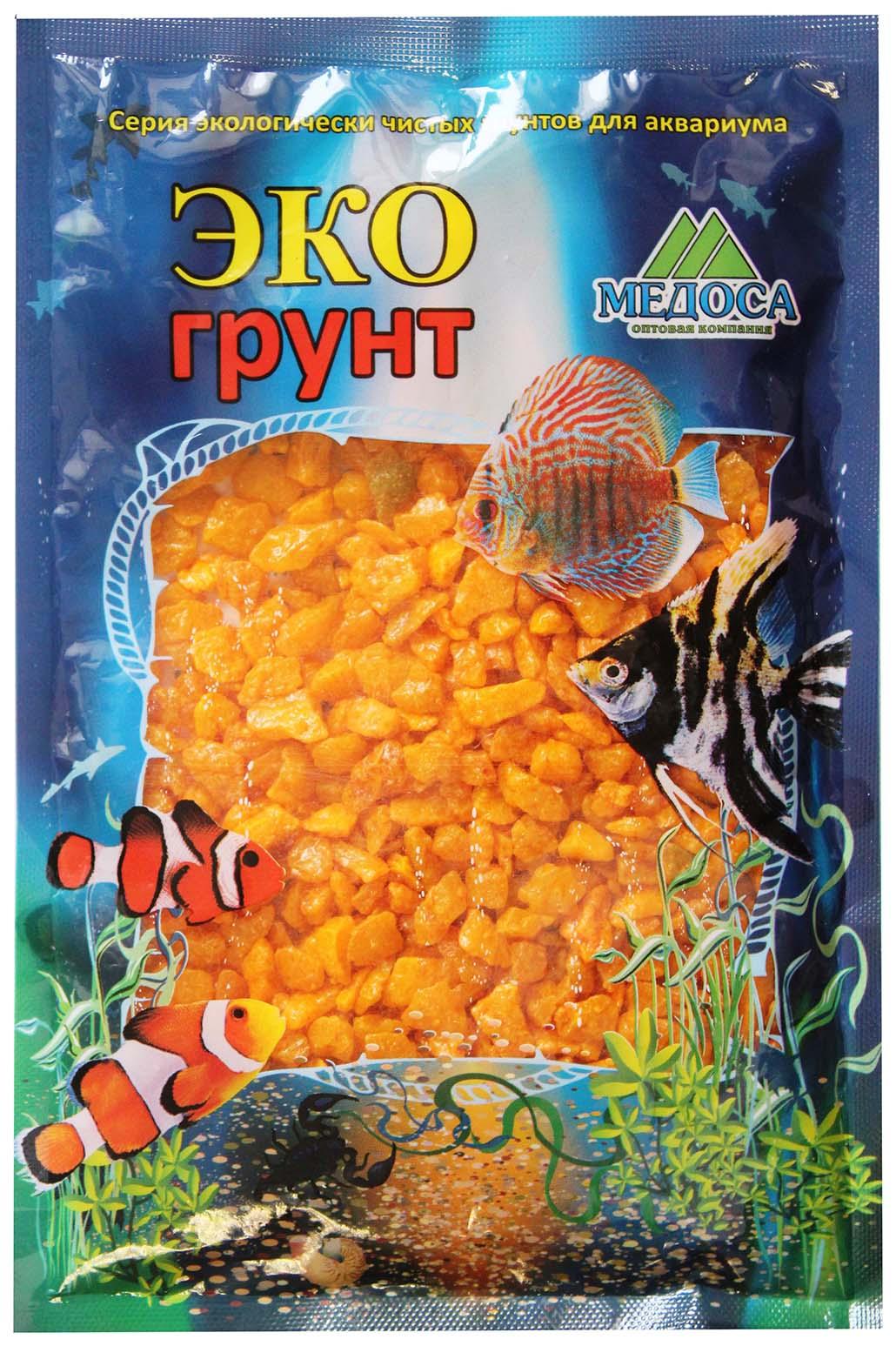 Грунт для аквариума ЭКОгрунт Мраморная крошка Желтая
