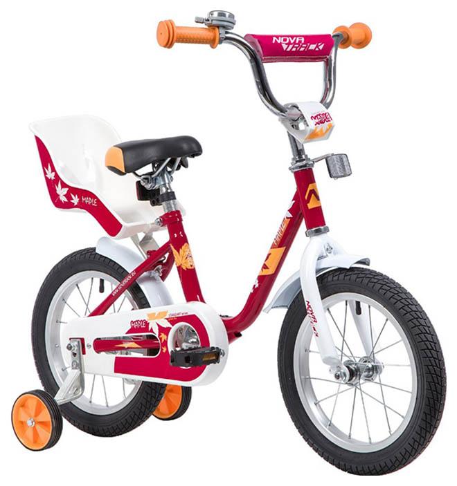 Велосипед NOVATRACK 14 MAPLE, красный