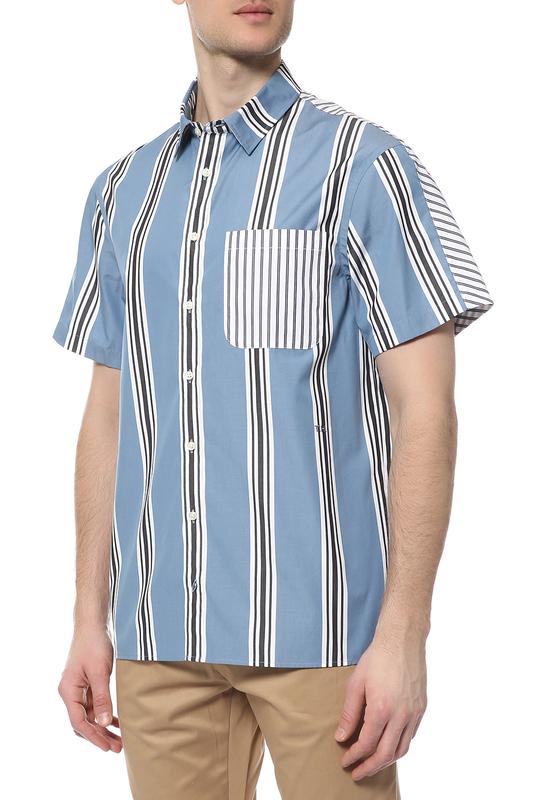 Рубашка мужская Tommy Hilfiger синия L