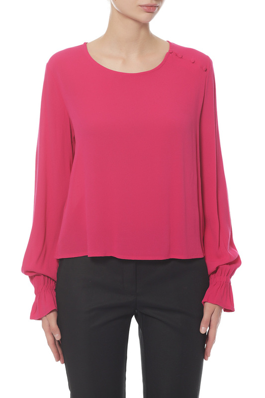 Блуза женская MANGO розовая M