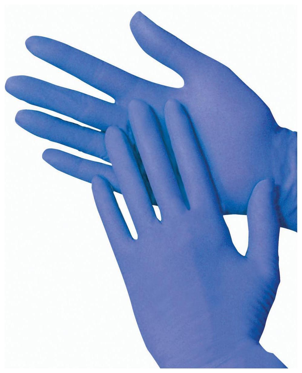 Перчатки нитриловые Glov professional 2 пары размер