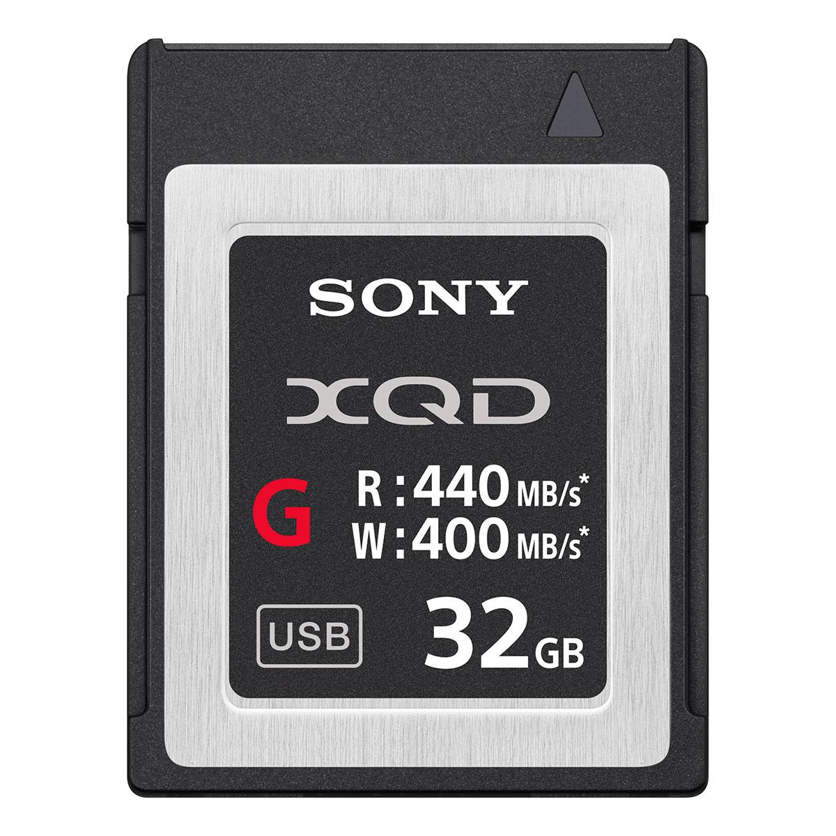 Карта памяти Sony XQD QD G32E/J 32GB