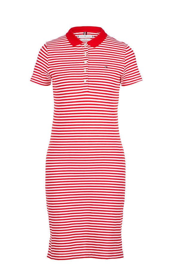 Платье женское Tommy Hilfiger красное 46 фото