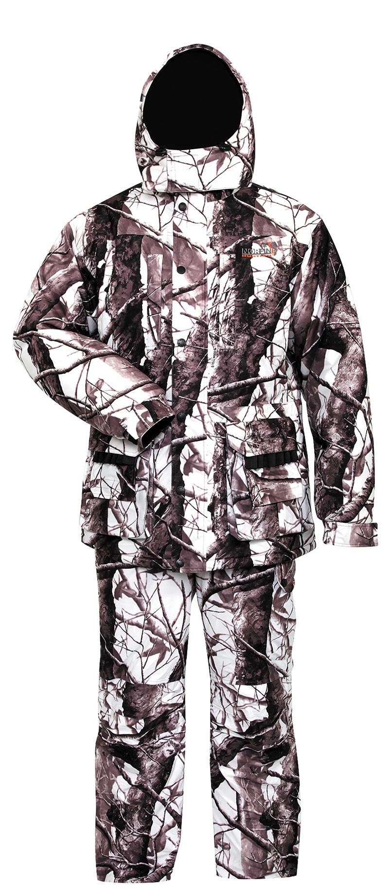 Костюм для охоты Norfin Hunting Wild, snow, S INT, 168-174 см фото
