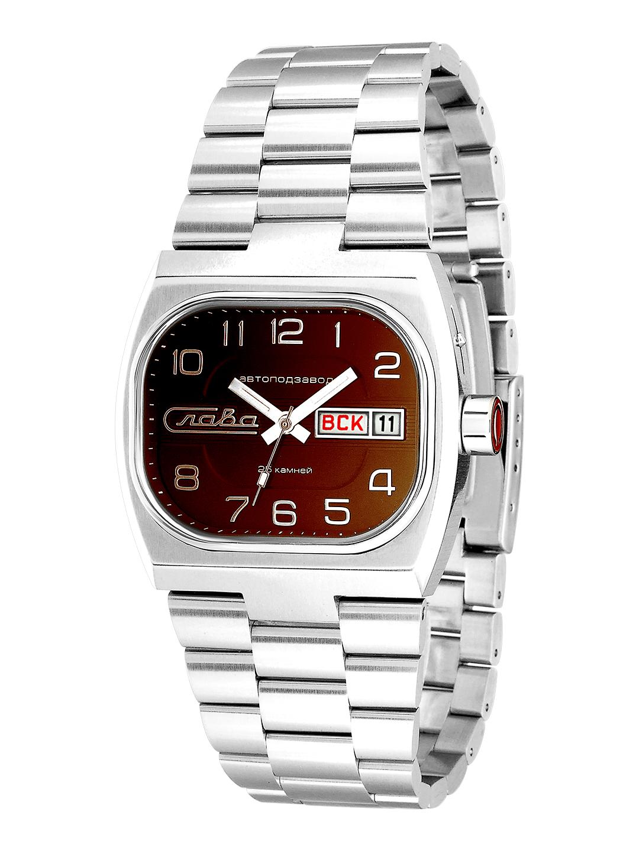 Наручные механические часы Слава Телевизор 7620026/100-2427 фото