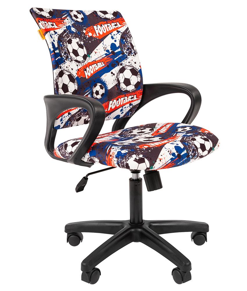 Купить Kids 103 черный пластик, Кресло Chairman Kids 103 Россия ткань футбол (чер), Детские стульчики