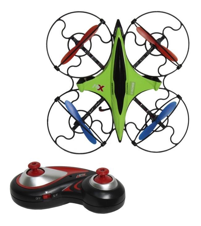 Купить Квадрокоптер 1 TOY GYRO-Cross Т58983, Квадрокоптеры для детей