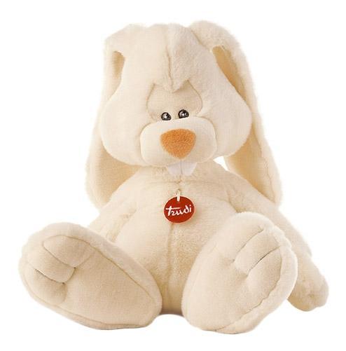 Купить Мягкая игрушка Trudi Заяц Вирджилио, 50 см, Мягкие игрушки животные