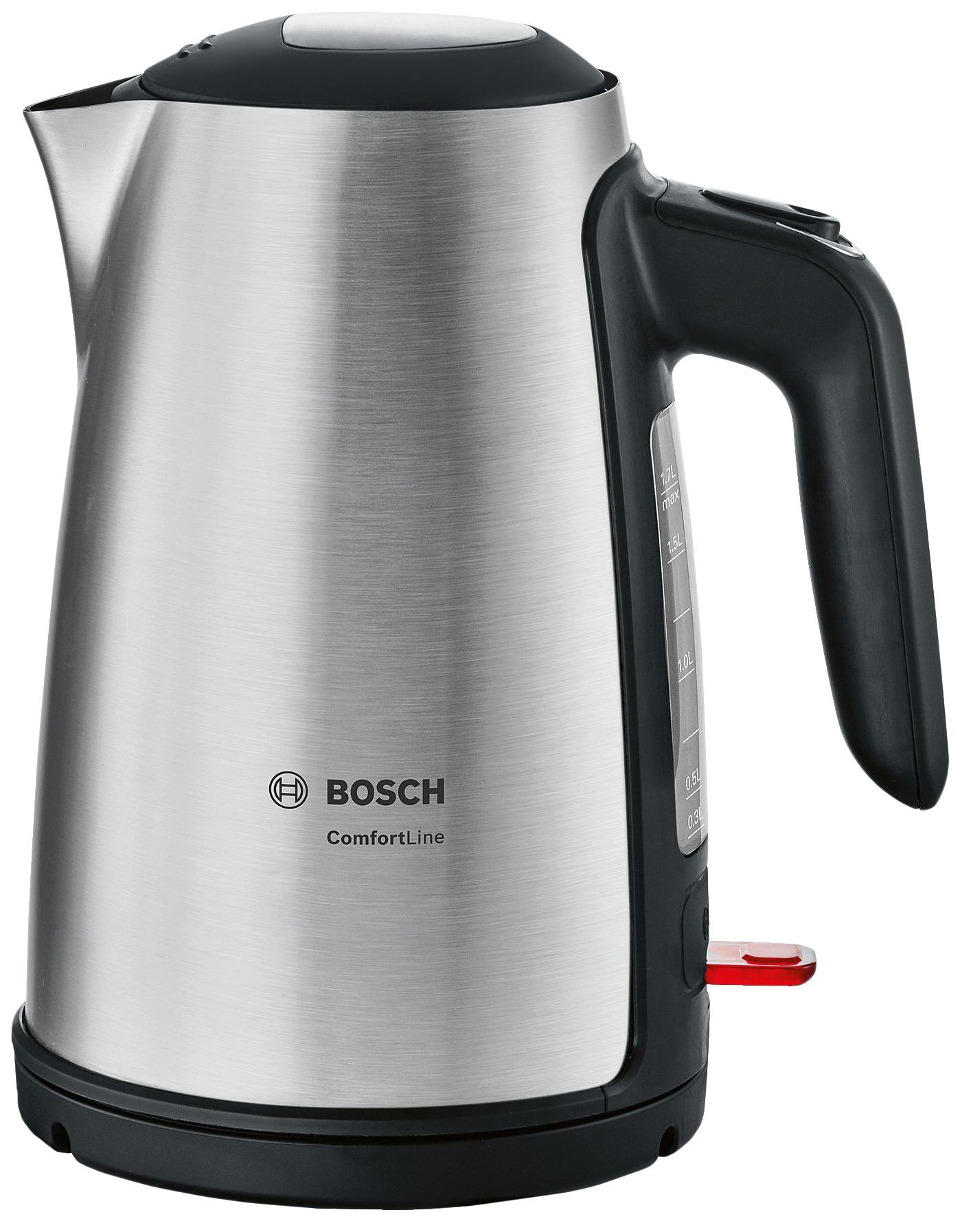 Чайник электрический Bosch ComfortLine TWK6A813 Silver фото