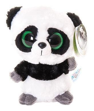 Мягкая игрушка Aurora Юху и его друзья 65-111 Панда, 12 см