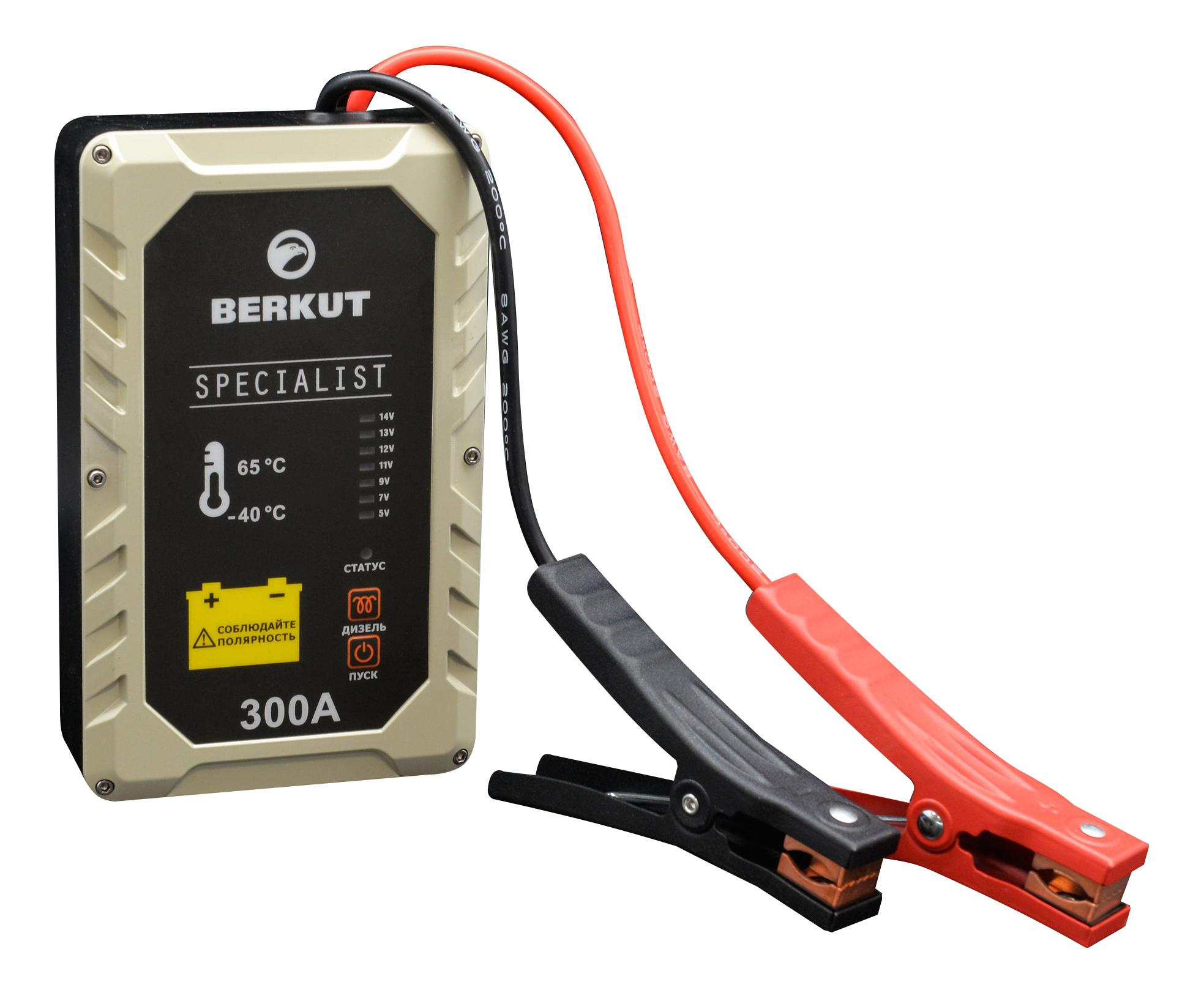 Пуско-зарядное устройство для АКБ Berkut JSC300A фото