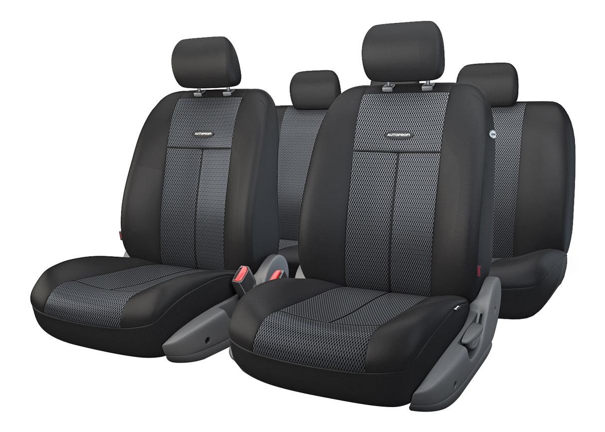 Комплект чехлов на сиденья Autoprofi TT-902M BK/BK фото