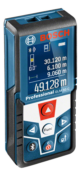 Лазерный дальномер Bosch GLM 50 C 0601072C00