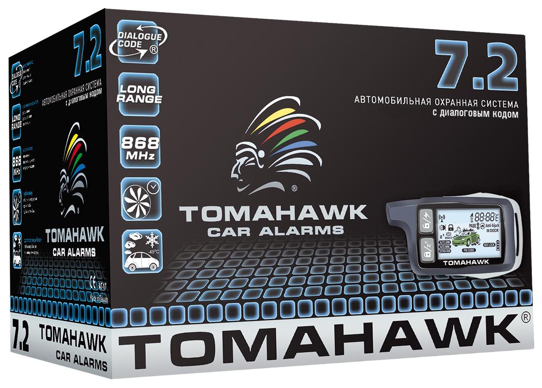 Tomahawk Автосигнализация Tomahawk 7.2