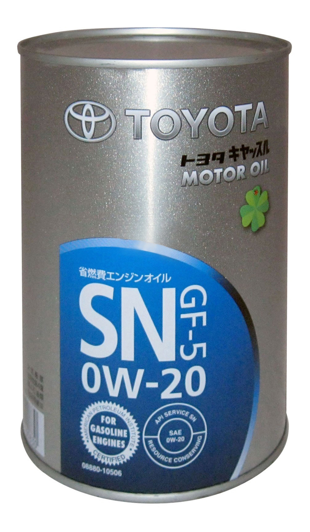Моторное масло Toyota GF-5 SN 0W-20 1л