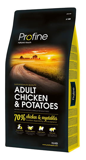 PROFINE ADULT LARGE CHICKEN #AND# POTATOES