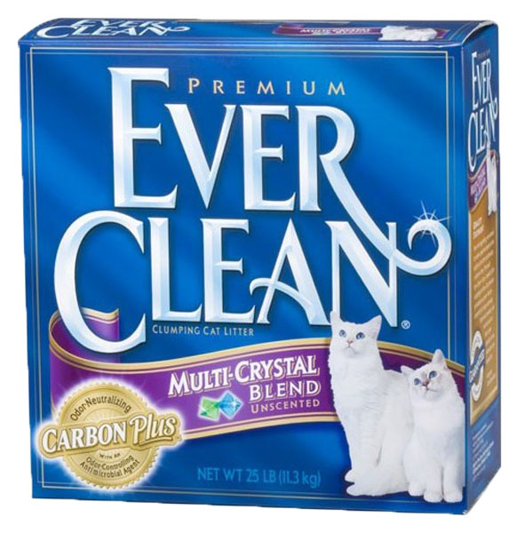 Наполнитель EVER CLEAN Multi Crystals Blend комкующийся 6 кг без запаха