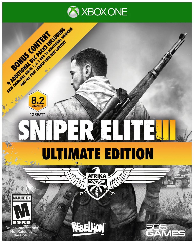 Игра Sniper Elite 3 Ultimate Edition для Xbox One 505 Games