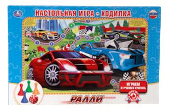 Купить Настольная игра Умка Ралли, Семейные настольные игры