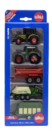 Набор пластиковых машинок siku Сельхозтехника 5 машин