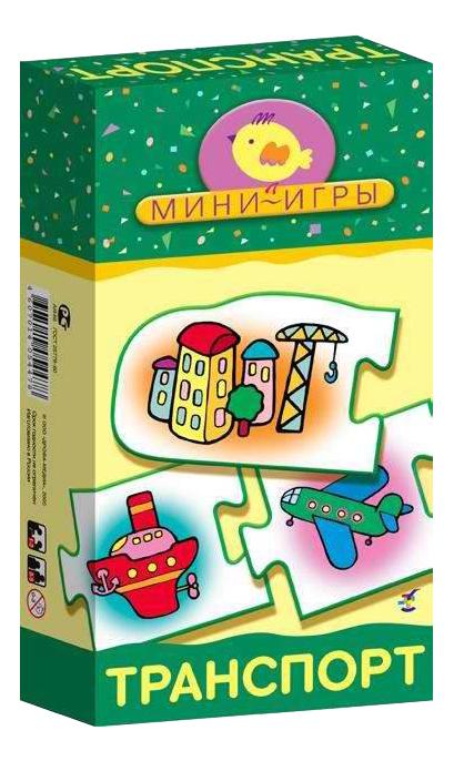 Купить Настольная мини-игра Дрофа-Медиа Транспорт, Семейные настольные игры