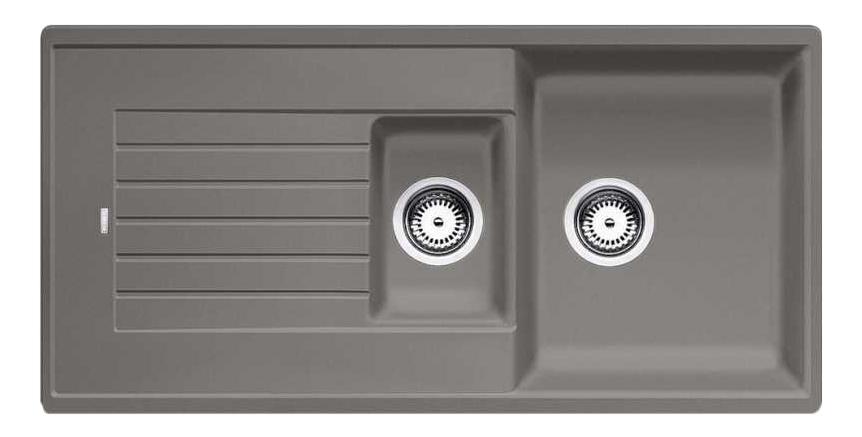 Мойка для кухни гранитная Blanco ZIA 6 S 517419 серый беж