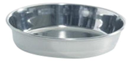 Одинарная миска для кошек Beeztees, сталь, серебристый,