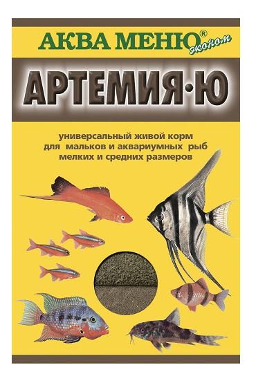 Корм для рыб Аква Меню Артемия-Ю, палочки, 35 г фото