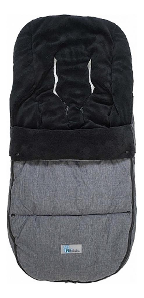 Купить Конверт-мешок для детской коляски Altabebe Alpin Bugaboo dark grey/black, Конверты в коляску
