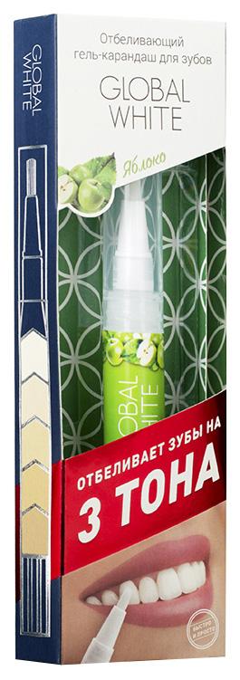 Отбеливающий карандаш Global White со вкусом яблока